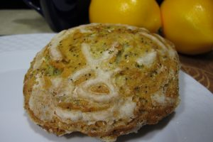 Lemon Poppy Seed Muffin Top