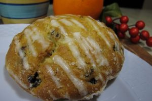 Orange Cranberry Muffin Top