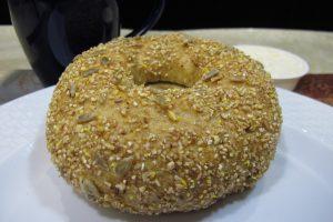 10 Grain Honey Bagel