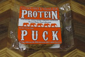Almond Butter Protein Puck