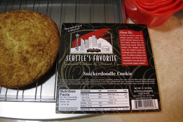 snickerdoodle card new