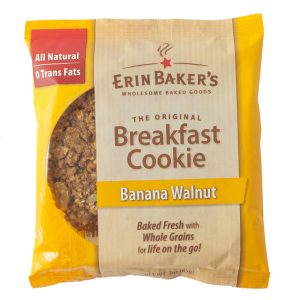 Banana Walnut Breakfast Cookie
