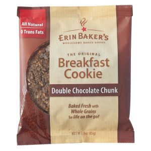 Double Chocolate Chunk Breakfast Cookie