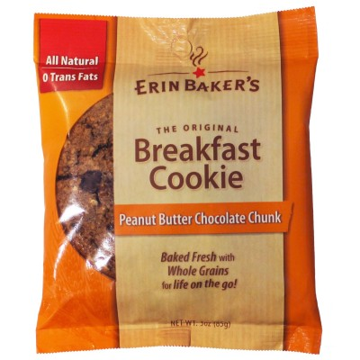Peanut Butter Chocolate Chunk Breakfast Cookie