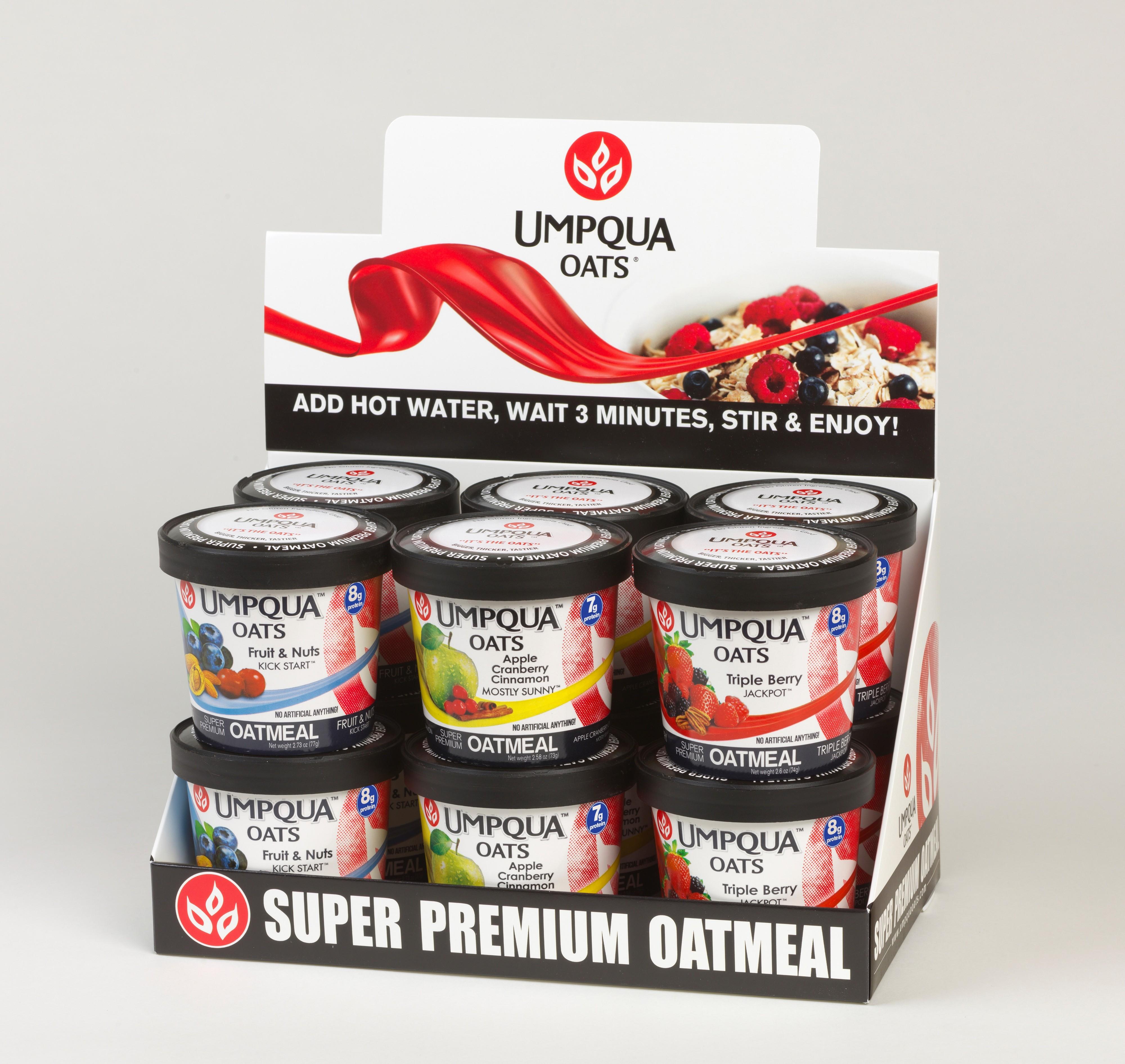 Umpqua Oats (8-pack)