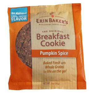Pumpkin Spice Breakfast Cookie